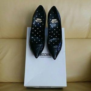 Moschino Cheap & Chic Patent Leather Pump