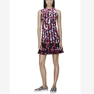 Peter Pilotto Shift Dress in Red Floral Print
