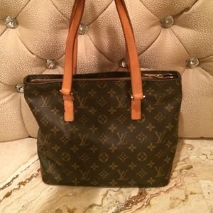 Authentic Louis Vuitton Cabas Piano Purse.