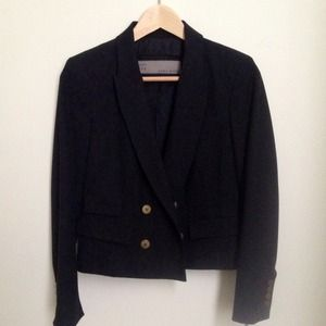 Zara Jackets & Blazers - New ZARA double breasted crop blazer