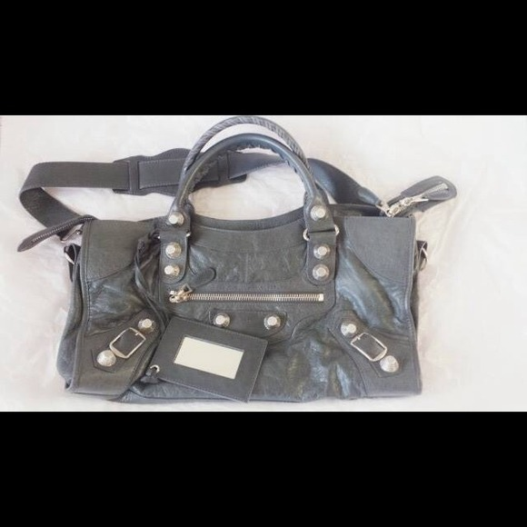 679b293f0d9 Balenciaga Bags | Authentic Giant 21 Silver Part Time | Poshmark