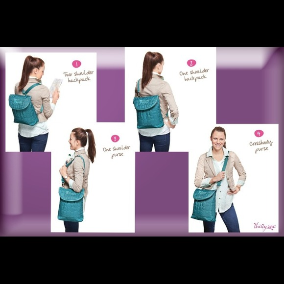 69% off Thirty One Handbags - Thirty One Vary You Backpack Purse ...