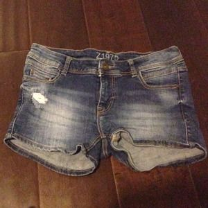 Zara low ride short