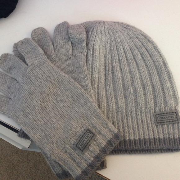 Coach Accessories - Coach Hat   Gloves Set 847797c2b892