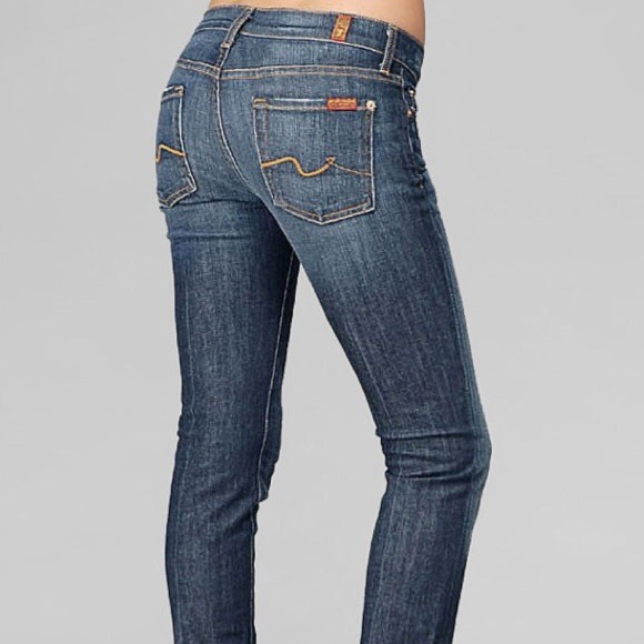 60% off 7 for all Mankind Denim - 7 Jean Roxanne Skinny from ...