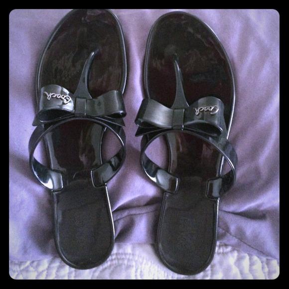 3f7dfee32b5d1f Coach Shoes - Coach Jelly sandals