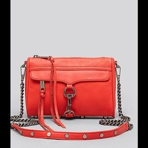 Rebecca Minkoff Handbags - NEW Rebecca Minkoff Mini Mac Crossbody Hot Red