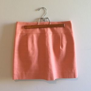 J.Crew pink/coral skirt