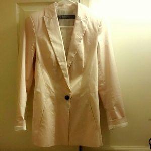 ZARA pink blazer jacket