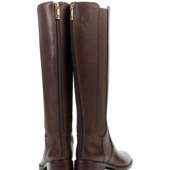 5% off Tory Burch Boots - Tory Burch Christy Riding Leather Boots ...
