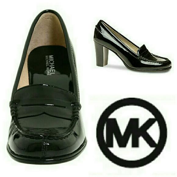 7345257f33067 SALE Michael kors loafer block heels. M 53f26d21b539e4046e01d37e