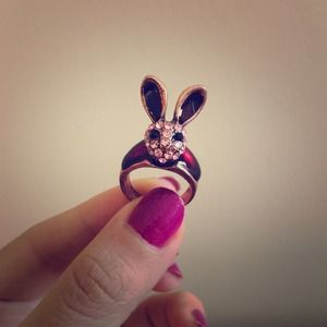 Rabbit ring 🐰 + Bee ring 🐝