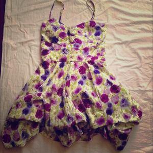 As U Wish Summer Floral Dress