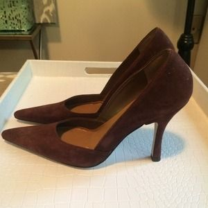 Paola Corelli Shoes - Brown Suede Pumps | 6