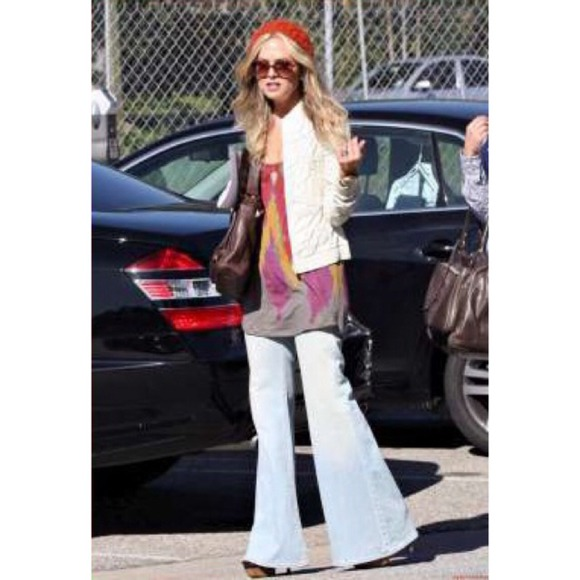 7137cabc75d9c 7 for all Mankind Jeans | Sold Super Flare Bell Bottoms | Poshmark