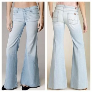 77a96a912736f 7 for all Mankind Jeans - SOLD 7 For All Mankind Super Flare Bell Bottoms