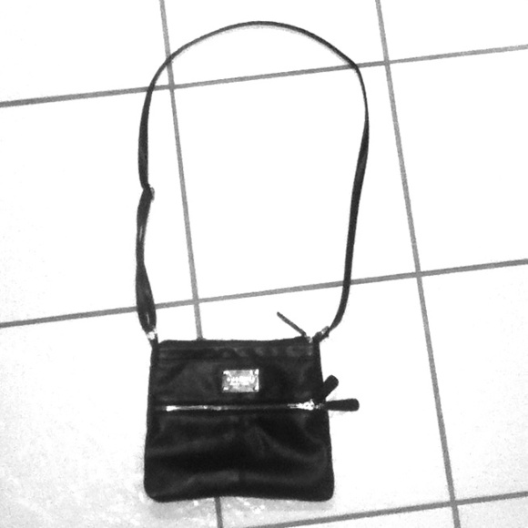 63% off Nine West Handbags - Small black over shoulder purse. from ...