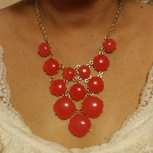 REDUCED! Coral Statement necklace