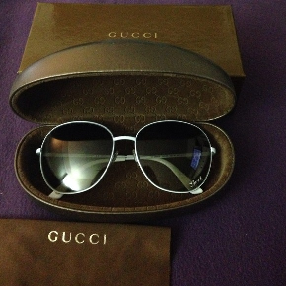 c798d658514 Gucci Accessories - Gucci White Frame 58x16-135 DMV6P GG 2899 S