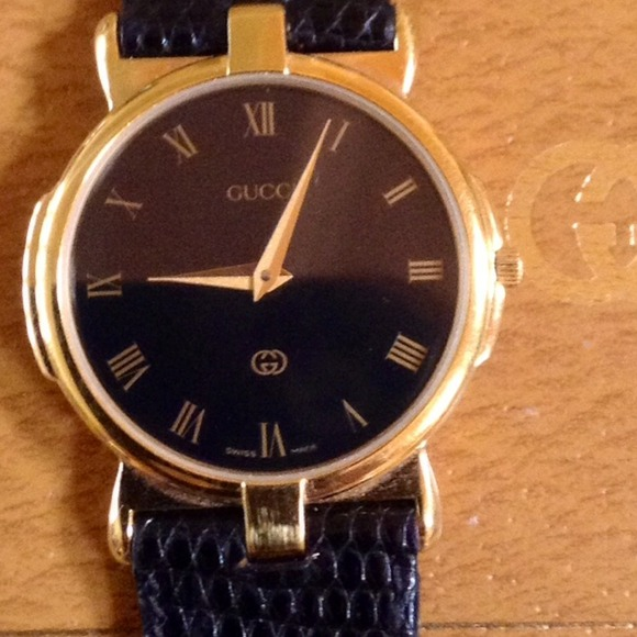 6a059e37995 Gucci Other - Authentic Vintage Gucci Mens 3400M 18K Gold Watch