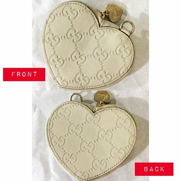 ec04e88a3b2 Gucci Clutches   Wallets - Gucci Coin Purse Heart Shaped ⬇️Reduced!