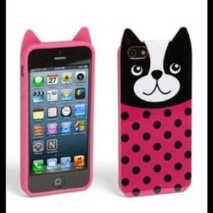 3/$25 New Rocky the pink bulldog iphone 5 case