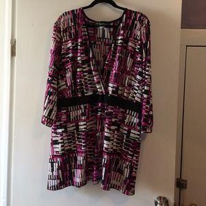 Tops - Maggie Barnes Catherine's dressy wrap blouse 5x