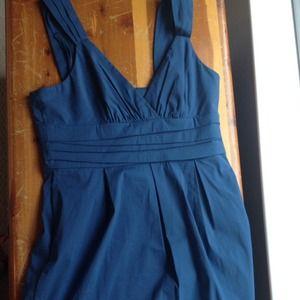 BCBG MaxAzria blue sundress