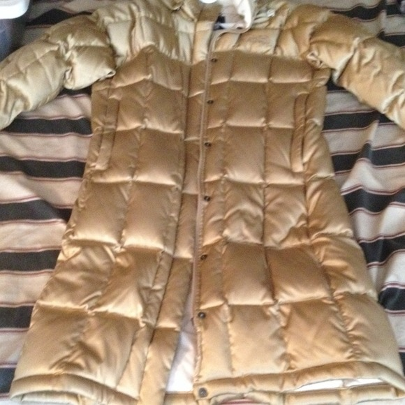 25% off North Face Outerwear - RESERVED NWOT Gold North Face Down