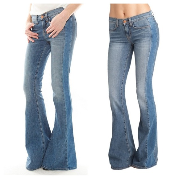 066e4a27d43 J Brand Chrissy Mid-rise Flare Jeans
