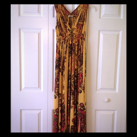 50% off ONE WORLD Dresses &amp- Skirts - One World Maxi Dress from ...