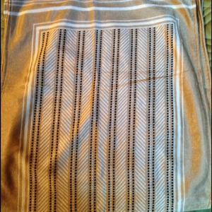 Accessories - Long rectangle scarf. Vintage.