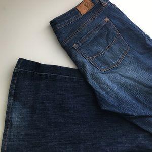 Bullhead flare jean