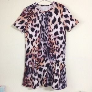 Zara Printed Dress!!