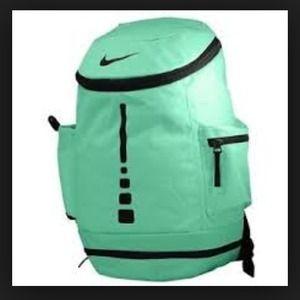 bd0f2aa556f0 Mint Green Nike Elite Bookbag Backpack
