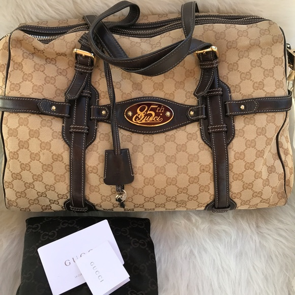 275edeedd4 Gucci Bags | Reduced Limited Auth 85th Anniversary Bag | Poshmark
