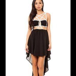 Nastygal, NWT. Hi low dress, small