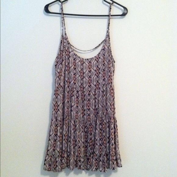 0d7045bb82a4 Brandy Melville Dresses   Skirts - Pink tribal print jada dress