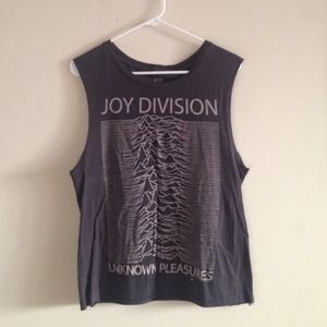 Joy Division Muscle Tank