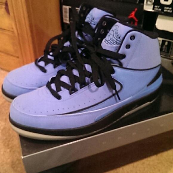 Jordan Shoes   Unc Blue Jordan Retro 2s