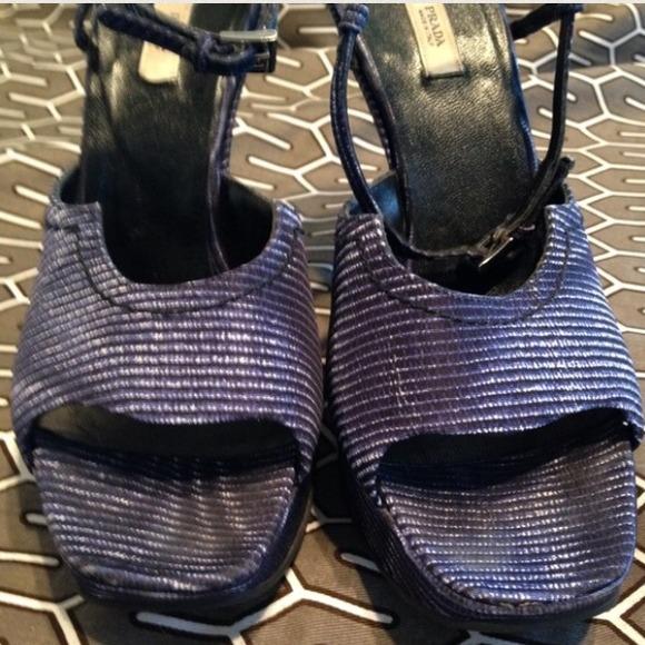 Prada Shoes - 🎉HP🎉Authentic Prada Wedges!