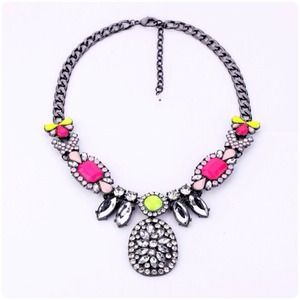 NEWNeon Statement Necklace