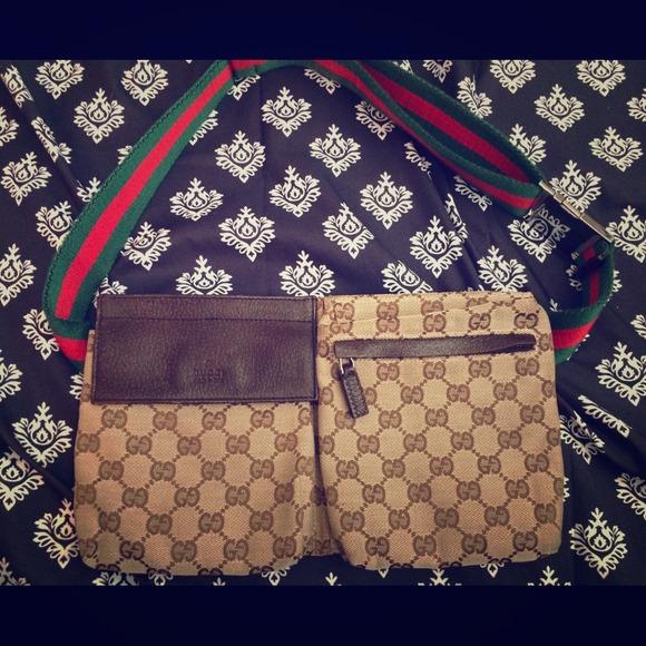 d736d0359 Gucci Handbags - 100% Authentic Gucci Fanny Pack!
