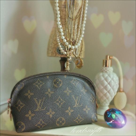 d420fc97f141 Louis Vuitton Clutches   Wallets - LOUIS VUITTON Cosmetic Pouch PM