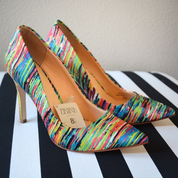 Prabal Gurung for Target Shoes - Prabal Gurung Multi-Colored Nolita Pumps