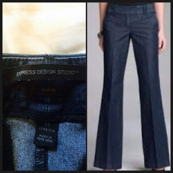86% off Express Denim - Express Editor Trouser Jeans from Dianna's ...