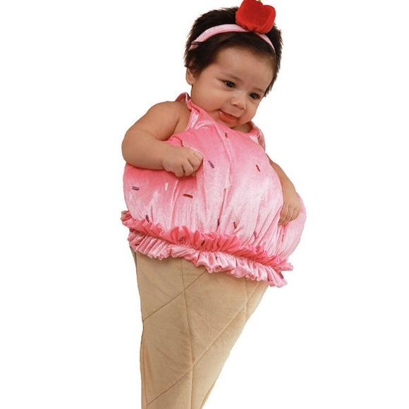 sale baby ice cream cone halloween costume