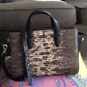 Alexander wang executive bag with shoulder strap
