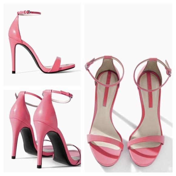 Zara - ZARA Pink High Heel Sandals from Tina's closet on Poshmark