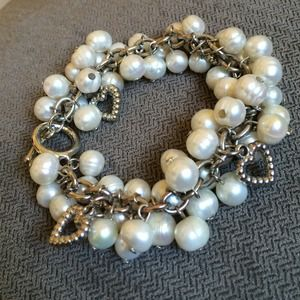Authentic Fresh Water Pearl Cluster Bracelet